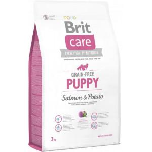 Brit Care GF Puppy Salmon & Potatoes сухий корм для цуценят з лососем і картоплею 3 кг