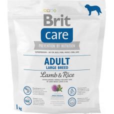 Brit Care Adult Large Breed Lamb & riceсухой корм для взрослых собак крупных пород с мясом ягненка и рисом 1 кг