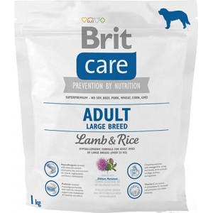 Brit Care Adult Large Breed Lamb & rice сухий корм для дорослих собак великих порід з м'ясом ягняти і рисом 1 кг