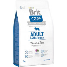 Brit Care Adult Large Breed Lamb & riceсухой корм для взрослых собак крупных пород с мясом ягненка и рисом 3 кг