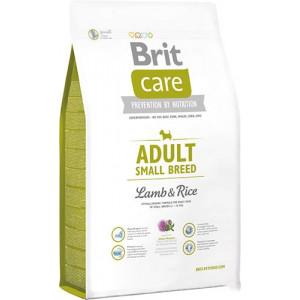 Brit Care Adult Small Breed Lamb & rice сухий корм для дорослих собак дрібних порід з м'ясом ягенека і рисом 1 кг