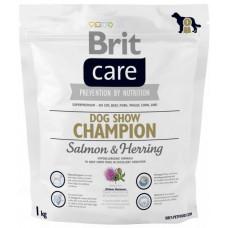 Brit Care Dog Show Championсухой корм для выставочных собак с лососем 1 кг