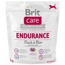 Brit Care Endurance сухой корм для активных собак всех пород с уткой и рисом 1 кг