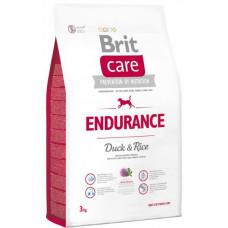 Brit Care Endurance сухой корм для активных собак всех пород с уткой и рисом 3 кг