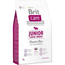 Brit Care Junior Large Breed Lamb & riceсухой корм для щенков и молодых собак крупных пород с мясом ягненка и рисом 3 кг