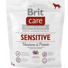 Brit Care Sensitive Venison & Potato  сухой корм для гипоаллергенных собак всех породс олениной 1 кг