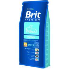 Brit Premium puppies cухой корм для щенков, беременных и кормящих собак всех пород c курицей 15 кг