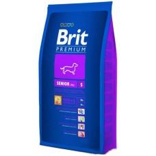 Brit Premium Senior Sсухой корм для пожилых собак мелких пород с курицей 8 кг