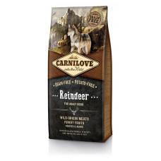 Carnilove Adult Raindeer сухойполнорационный беззерновой корм для взрослыхсобак всех пород с мясом северного оленя 12 кг