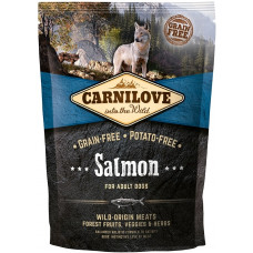 Brit Carnilove Adult Salmonсухойполнорационный беззерновой корм для взрослых собаквсех пород с мясом лосося 1,5 кг
