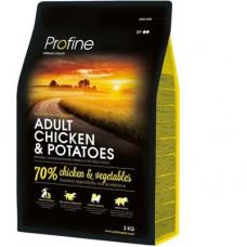 Profine Adult Chicken & Potatoesсухой корм для взрослых собак с курицей и картофелем 3 кг