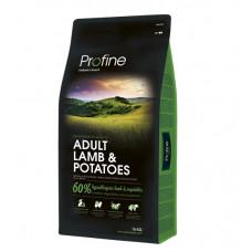 Profine Adult Lamb & Potatoes сухой корм для взрослых собак с ягненком и картофелем 15 кг