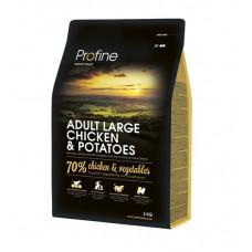 Profine Adult Large Breed Chicken & Potatoes сухой корм для взрослых собак крупных пород с курицей и картофелем 3 кг