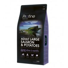 Profine Adult Large Breed Salmon & Potatoes сухой корм для взрослых собак крупных пород с лососем и картофелем 15 кг