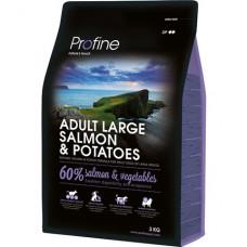Profine Adult Large Breed Salmon & Potatoes сухой корм для взрослых собак крупных пород с лососем и картофелем 3 кг