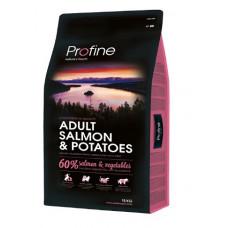 Profine Adult Salmon & Potatoes сухой корм для взрослых собак с лососем и картофелем 3 кг
