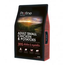 Profine Adult Small Breed Breed Chicken & Potatoes сухой корм для взрослых собак маленьких пород курица и картофель 10 кг