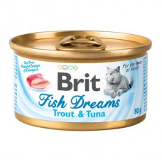 Brit Fish Dreams k 80g форель и тунец
