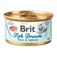 Brit Fish Dreams k 80g тунец и лосось