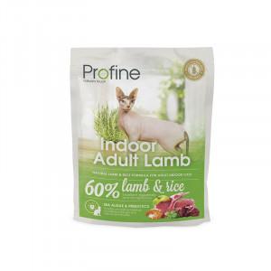 Profine Cat Indoor корм для выведения шерстяних комков у кошек с ягненком 0,3 кг.