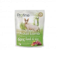 Brit Profine Cat Indoor корм для выведения шерстяних комков у кошек с ягненком 0,6 кг.