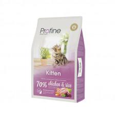 Profine Cat Kitten корм для котят от 1 до 12 месяцев с курицей и рисом 10 кг.