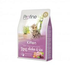Profine Cat Kitten корм для котят от 1 до 12 месяцев с курицей и рисом 2 кг.