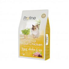 Profine Cat Original Adult корм для всех пород взрослых кошек с курицей 10 кг.