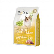Profine Cat Original Adult корм для всех пород взрослых кошек с курицей 2 кг.