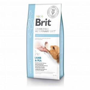 Brit VetDiets Dog Obesity сухой корм для собак при избыточном весе 12 кг