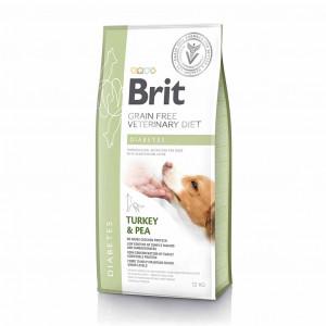 Brit VetDiets Dog Diabetes сухий корм для собак при цукровому діабеті 12 кг
