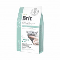 Brit Veterinary Diets Cat Struvite сухой корм для котов при мочекаменной болезни 2 кг