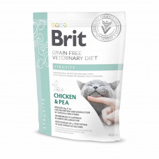 Brit Veterinary Diets Cat Struvite сухой корм для котов при мочекаменной болезни 0,4 кг