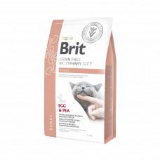Brit Veterinary Diets Cat Renal сухой корм для котов при хронической почечной недостаточности 2 кг