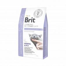 Brit Veterinary Diets Cat Gastrointestinal сухой корм для котов при остром и хроническом гастроэнтерите 2 кг