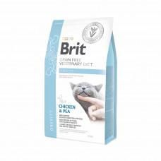 Brit Veterinary Diets Cat Obesity сухой корм для котов при избыточном весе и ожирении 2 кг