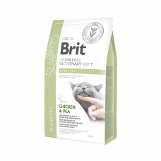 Brit Veterinary Diets Cat Diabetes сухой корм для котов при сахарном диабете 2 кг