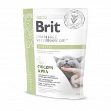 Brit Veterinary Diets Cat Diabetes сухой корм для котов при сахарном диабете 0,4 кг