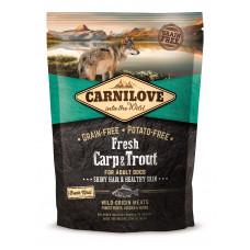 Carnilove Fresh Carp & Trout сухой корм для взрослых собак с карпом и форелью 1,5 кг