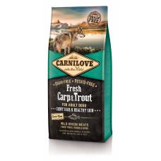 Carnilove Fresh Carp & Trout сухой корм для взрослых собак с карпом и форелью 12 кг
