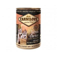 Carnilove Salmon & Turkey for Puppies консерва для щенков всех пород, 400г