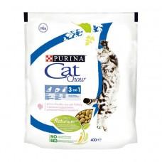 Cat Chow сухой корм с формулой 3в1 с индейкой 400г