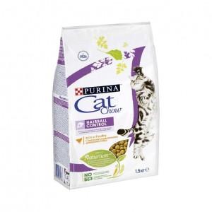 Cat Chow Hairball сухой корм 1,5кг