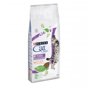 Cat Chow Hairball сухой корм 15кг