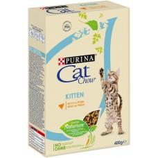 Cat Chow Kitten сухой корм с курицей 400г