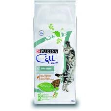 Cat Chow Sterilized сухой корм для стерилизованих котов 15кг