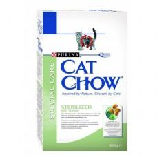 Cat Chow Sterilized сухой корм для стерилизованых котов 400г