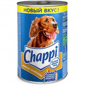 Chappi (Чаппи) консервы для собак с говядиной и птицей 400 г.