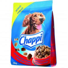 Chappi (Чаппи) сухой корм для собак с говядиной, птицей и овощами 3 кг.