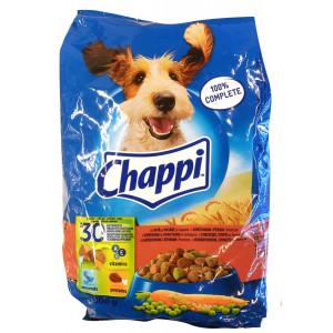 Chappi (Чаппи) сухой корм для собак с говядиной, птицей и овощами 500 г.